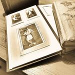 All photo album pictures are scanned in the photo album and cropped individually