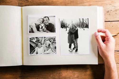 photo album scanning service and scrapbook scanning